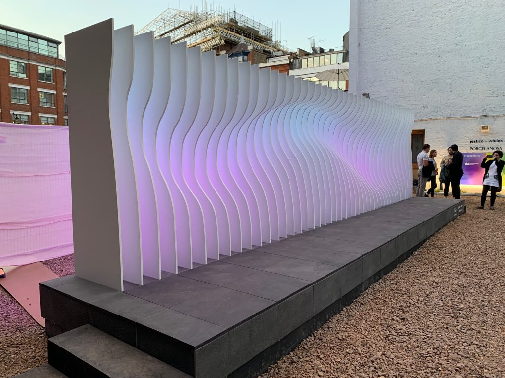 Installation at CDW2019 supported by Architainment Lighting an overwhelming success 2